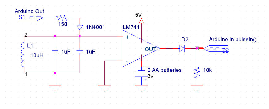 Easily measuring inductance with Arduino | ReiBot org
