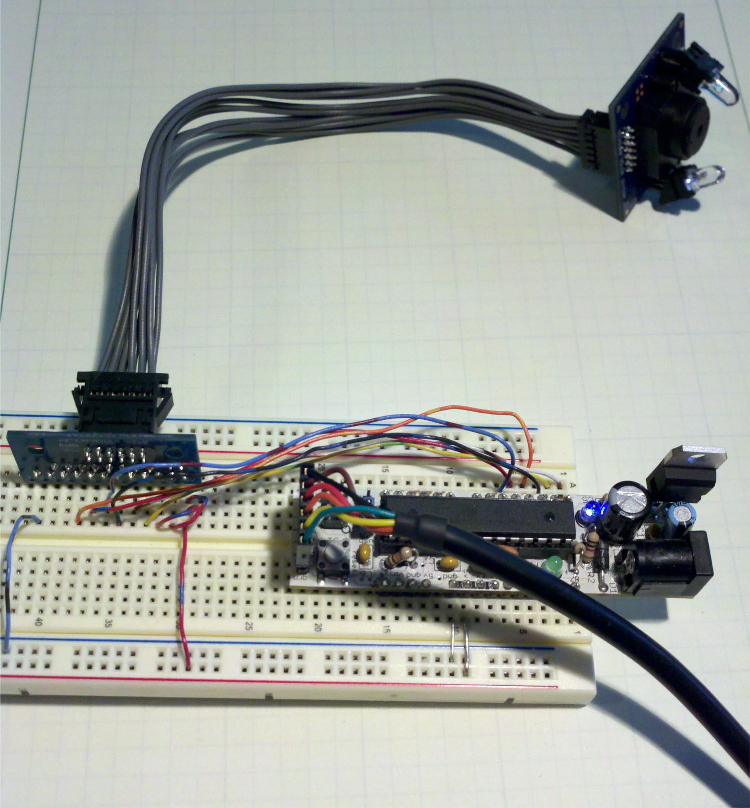 Using The Tcs3200 With Arduino Or Parallax Propeller Color Sensor Circuit Wiring