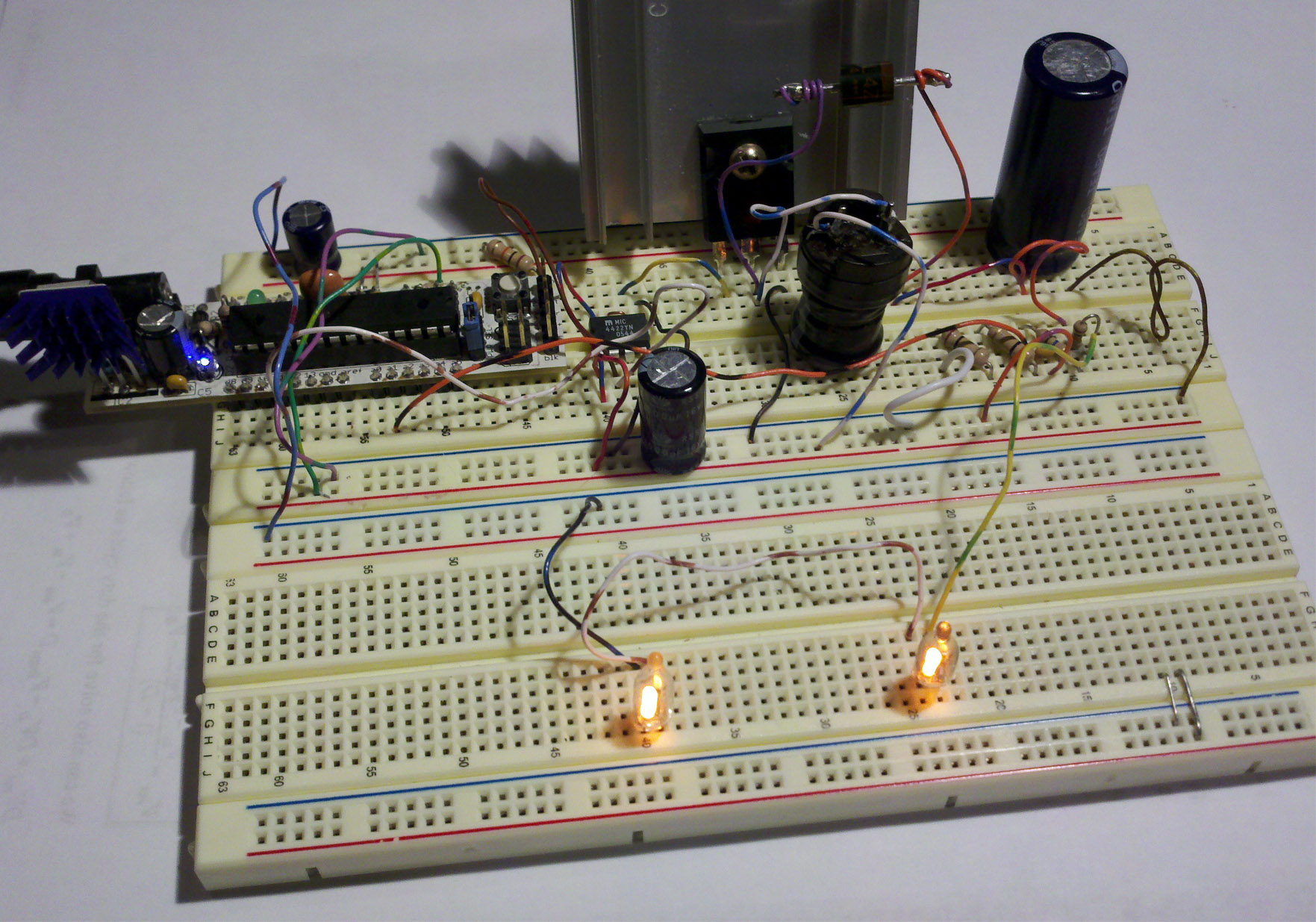 Boost Converter Intro With Arduino Simple Circuit