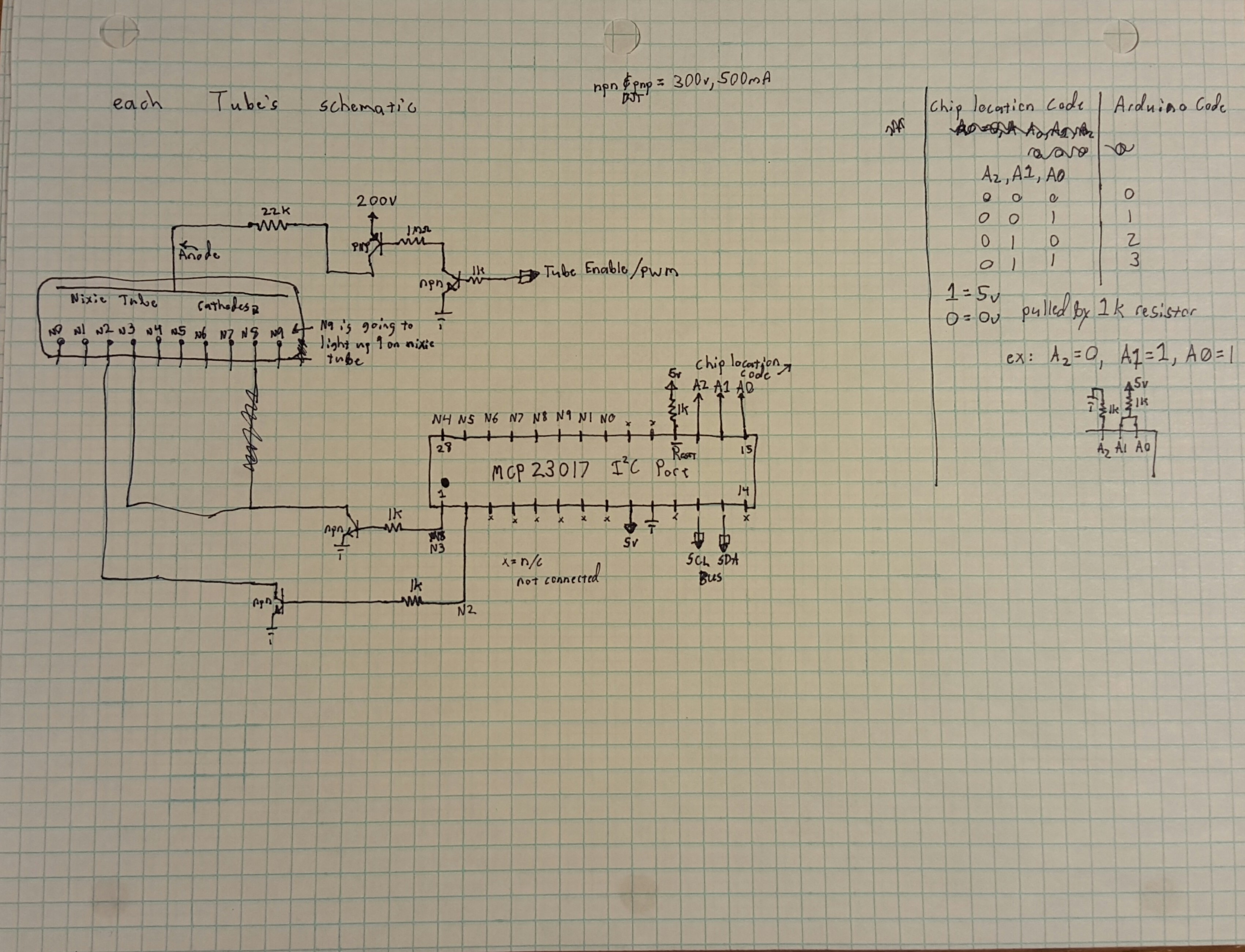 Nixie Clocks Schematic Of My 6 Digit Clock Here Are Some Photos Each Individual Tube